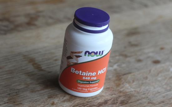 ベタイン塩酸