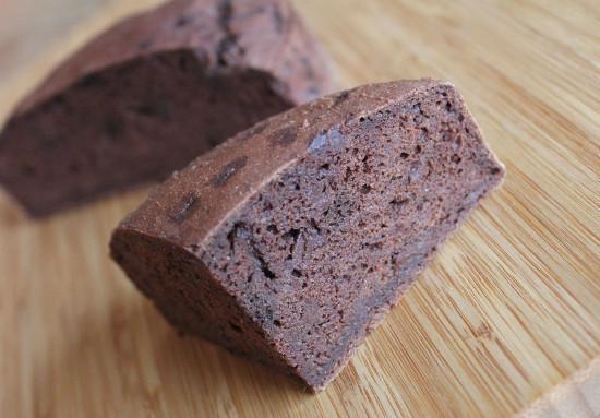 スペルト小麦のチョコレートケーキ