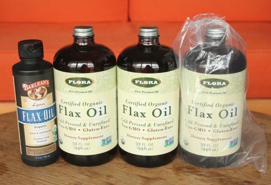 flora社のフラックスオイル