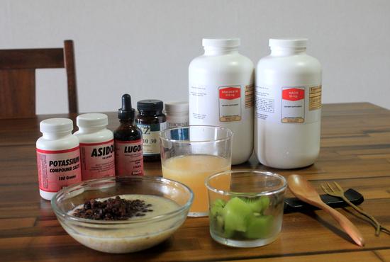 ゲルソン食とサプリメント